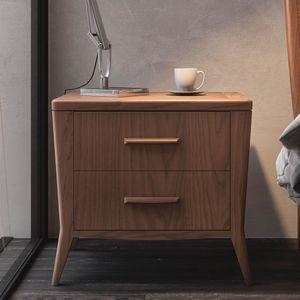Nova NOVA1304T, Comodino moderno in legno