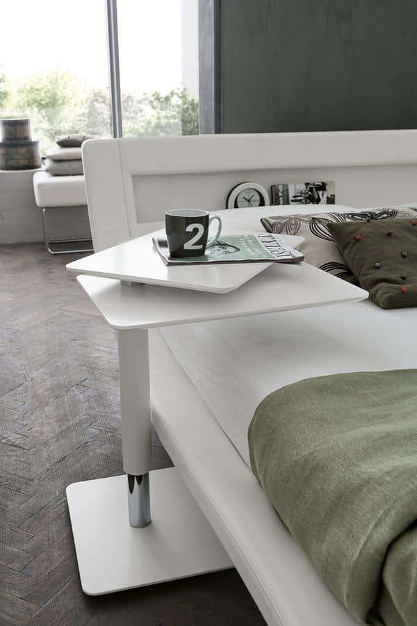 TWIST TC122, Comodini in metallo trasformabili per camere da letto moderne