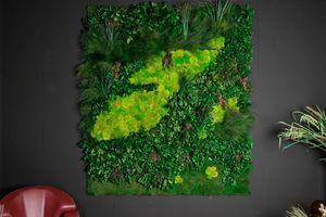Cansiglio, Pannello decorative in vere piante