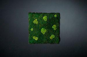 Flatmoss con Polemoss, Pannello modulare per parete vegetale