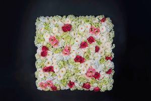 Rose Flower Wall, Pareti floreale decorativa