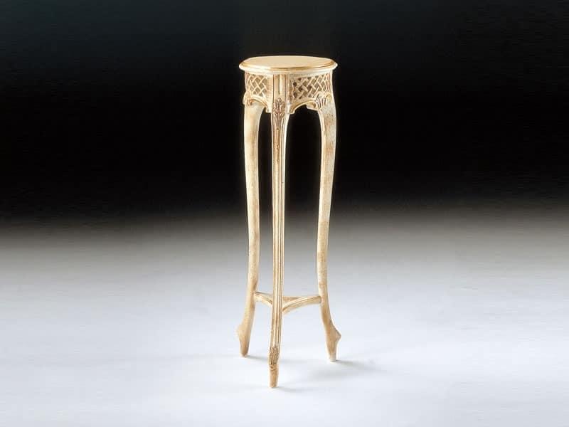 Art. 102/B, Tavolino portalampada in stile classico, per hotel
