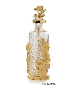 Art. MER 1223/AC, Elegante bottiglia porta profumo