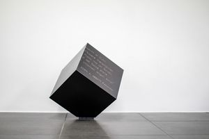 Dado, Cubo decorativo in metallo
