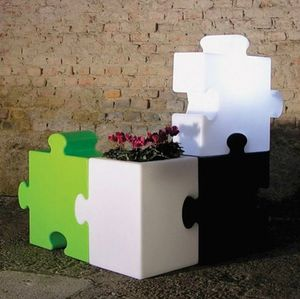 Lampada da terra modulare diseño moderno bar y restaurante Slide Puzzle Corner LP PUZ051A, Oggetto d�arredo modulare e multifunzione
