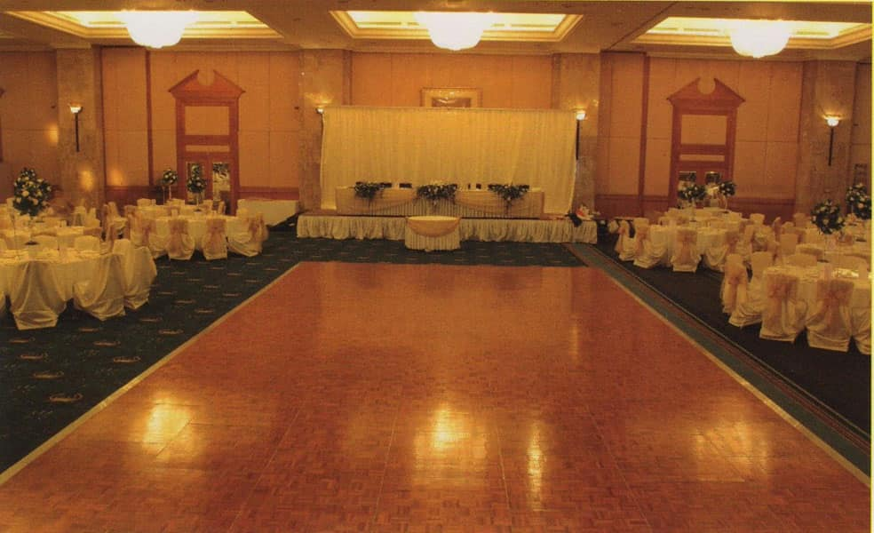 Dancefloor, Pista da ballo mobile, facilmente montabile