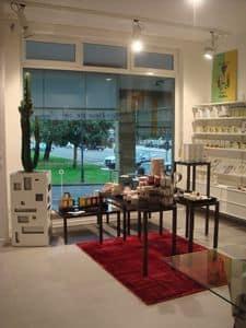 Ernesto Consolle, Consolle in metallo, ideale per negozi e per la casa