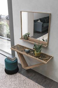 KIRA CO508, Consolle rettangolare in legno