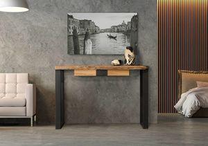 Laguna consolle Art. 511, Consolle con cassetto, piano in briccole veneziane