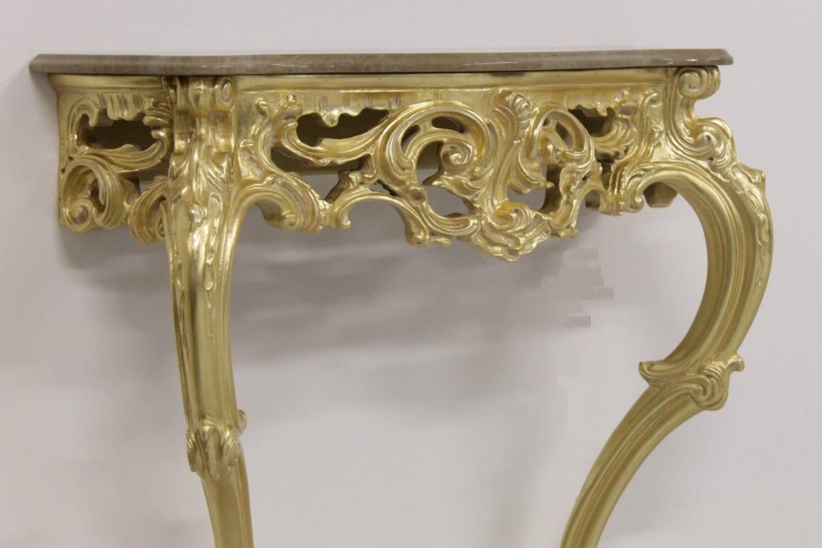 Sensual oro, Consolle in stile barocca
