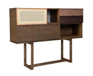 Swing 5801/F, Consolle in legno