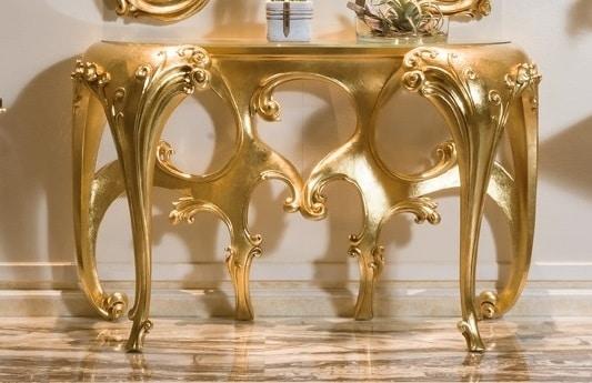 Consolle 5818-5819, Consolle classica con specchiera
