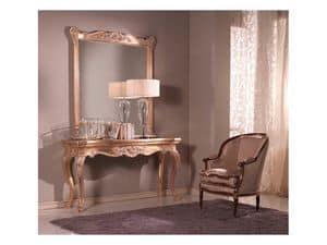 Consolle + Specchiera, Consolle e specchiera in stile veneziano