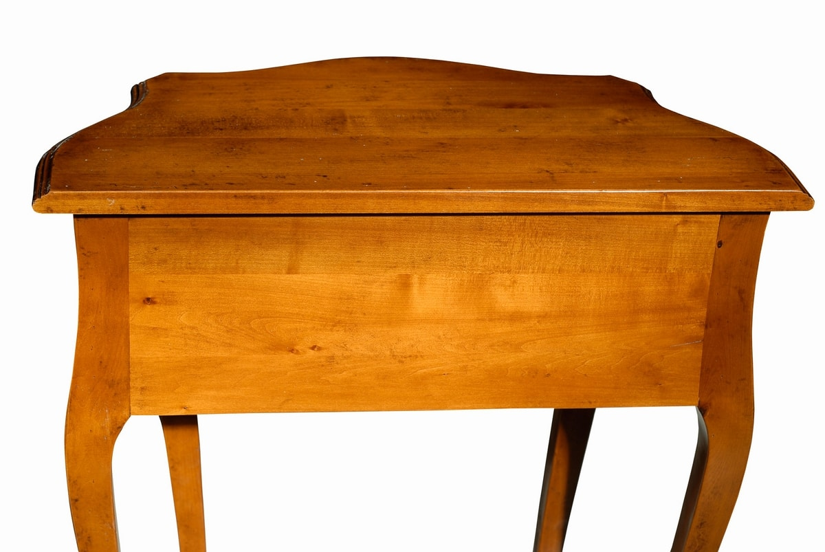 Fabiola FA.0024, Consolle in stile Luigi XV con 1 cassetto, ideale per sale d'ingresso