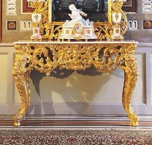 Opera consolle, Consolle classica di lusso, intagliata a mano da maestri artigiani