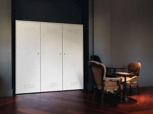 CITYBOX comp.06, Contenitori modulari in acciaio, per uffici e palestre