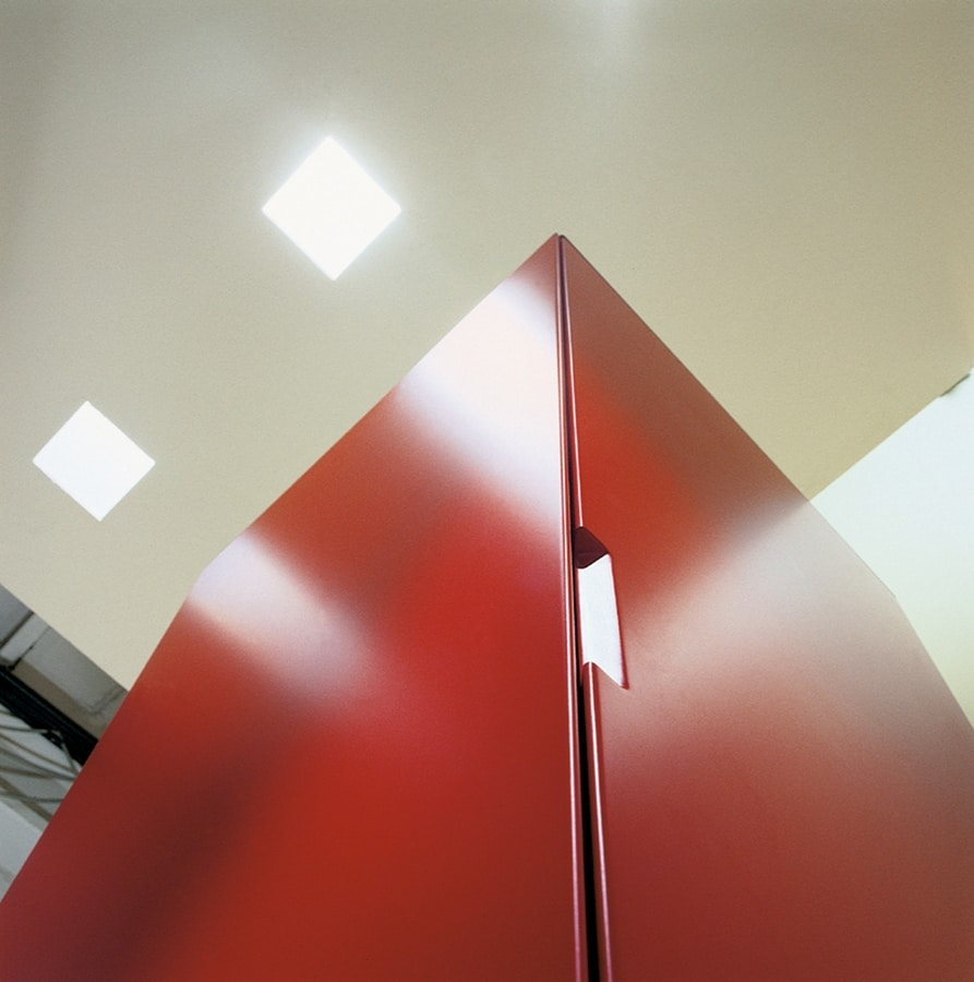 ROLLERBOX comp.03, Mobile contenitore per la casa, contenitore verticale per uffici