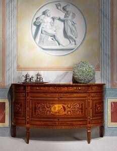 Art. 891, Credenza con intarsi decorativi