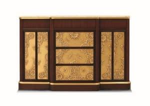 Orion, Mobile da soggiorno, stile art dec�, con piano in marmo