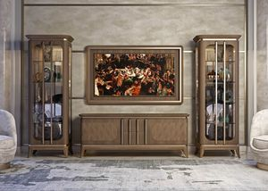 Art. 5005, Mobile basso in noce canaletto