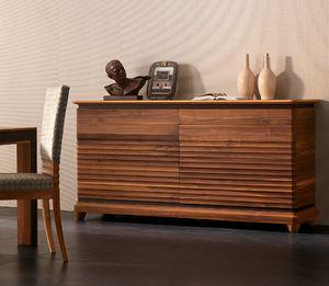 Elettra Art. EL102, Credenza in legno a 2 ante e 2 cassetti