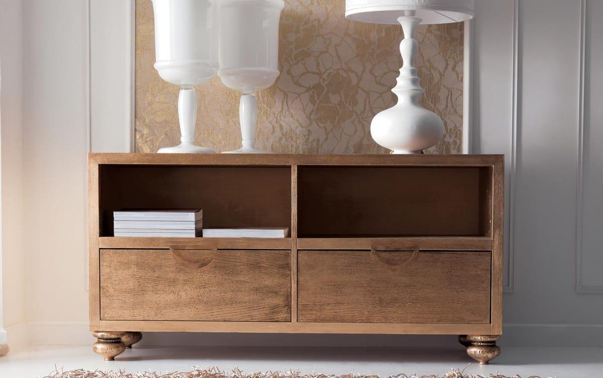 Keope Art. 406, Elegante credenza in legno