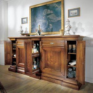 La Casa dello Stile LACASA-E511, Credenzone intarsiato classico