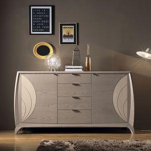 Luna LUNA5014, Credenza moderna in legno