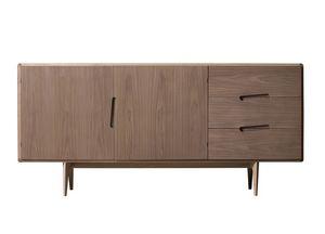 Malib� 1705/F, Credenza in legno, con cassetti