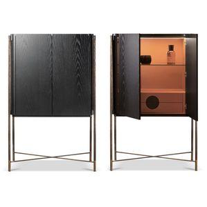 Shangai cabinet, Mobile con cassetti interni