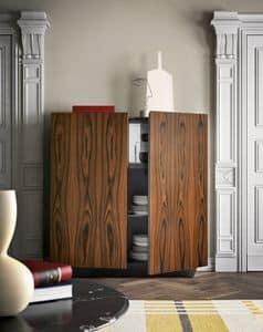 Tosca, Madia elegante, disponibile anche nelle finiture esotiche del palissandro e dell�ebano