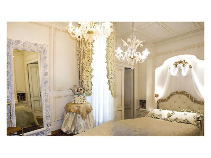 Boiserie Per Camere Da Letto Laccata Bianco Idfdesign