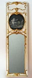 BOISERIE ART.BS 0001, Pannello di boiserie in legno, intagliata a mano