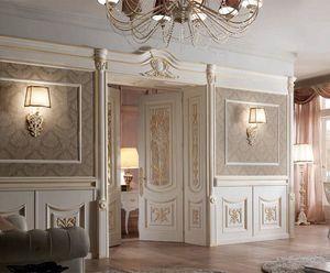 Luigi XVI boiserie, Lussuosa boiserie in stile Luigi VXI