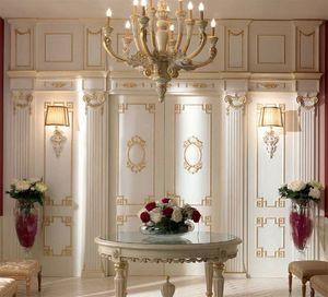 Trianon boiserie, Decorazione per parete in legno, stile classico
