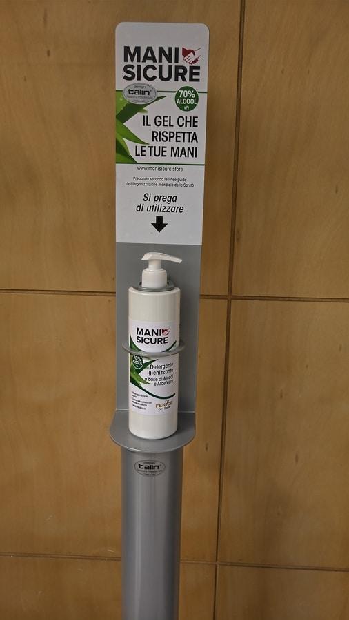 LEAP 2020 MA04, Porta dispenser manuale, anti-covid