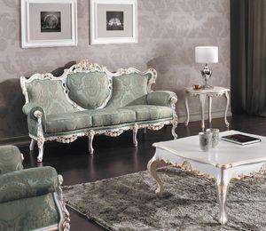 Art. 3140, Sfarzoso divano intagliato