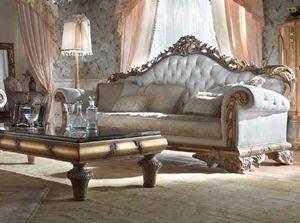 Lariana divano, Sontuoso divano in stile classico