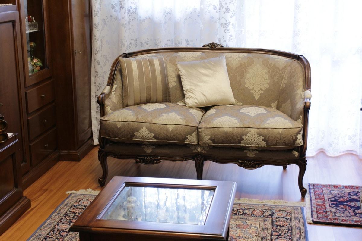 Divano E Poltrone Luigi Filippo divano classico di lusso in stile rococò | idfdesign