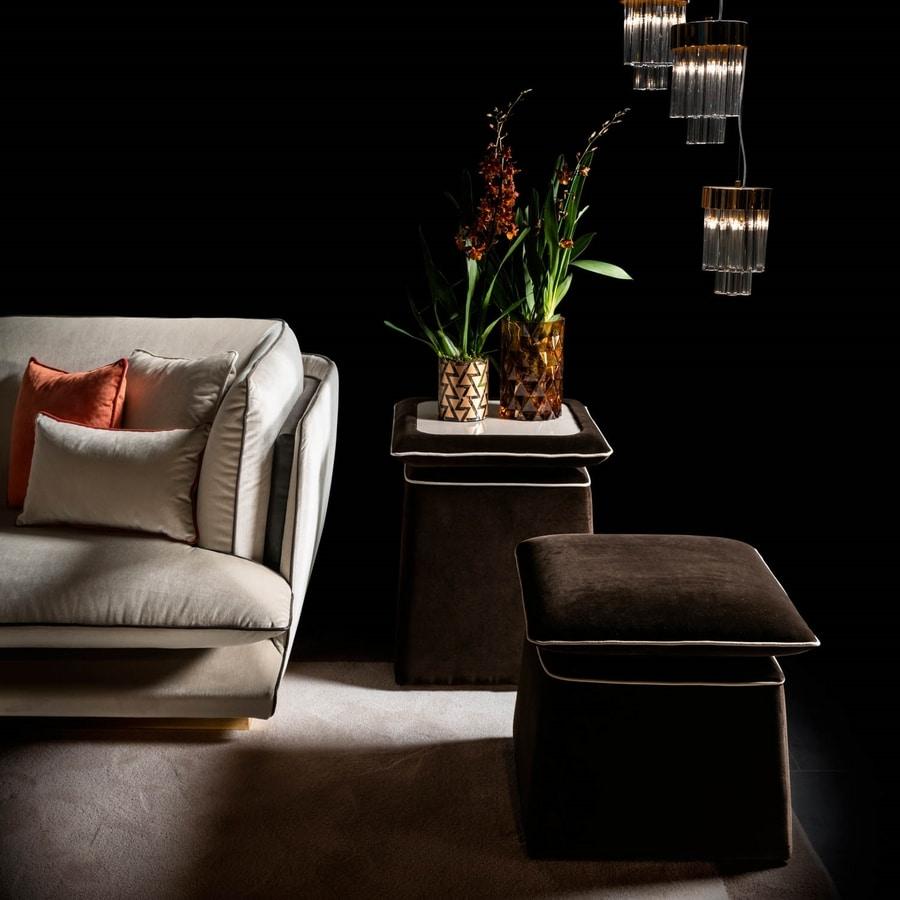 ALLURE divano, Elegante divano a due o tre posti