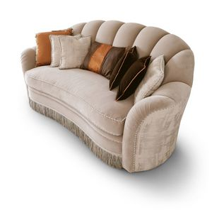 FLORA / divano, Divano dalle linee morbide