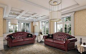 PANAREA divano, Divano armonioso, in stile classico