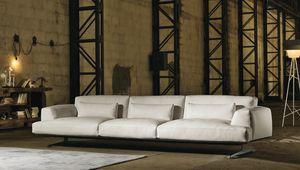 Albachiara, Grande divano rivestito in pelle