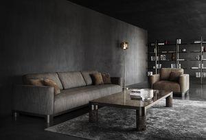 Bold Sofa, Elegante divano personalizzabile
