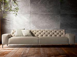 Boston capitonné, Confortevole divano, dal design raffinato