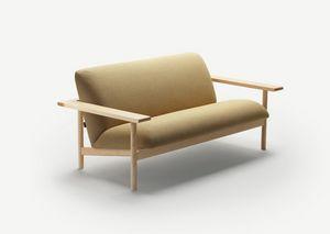 Kinoko sofa, Divano dal design pulito