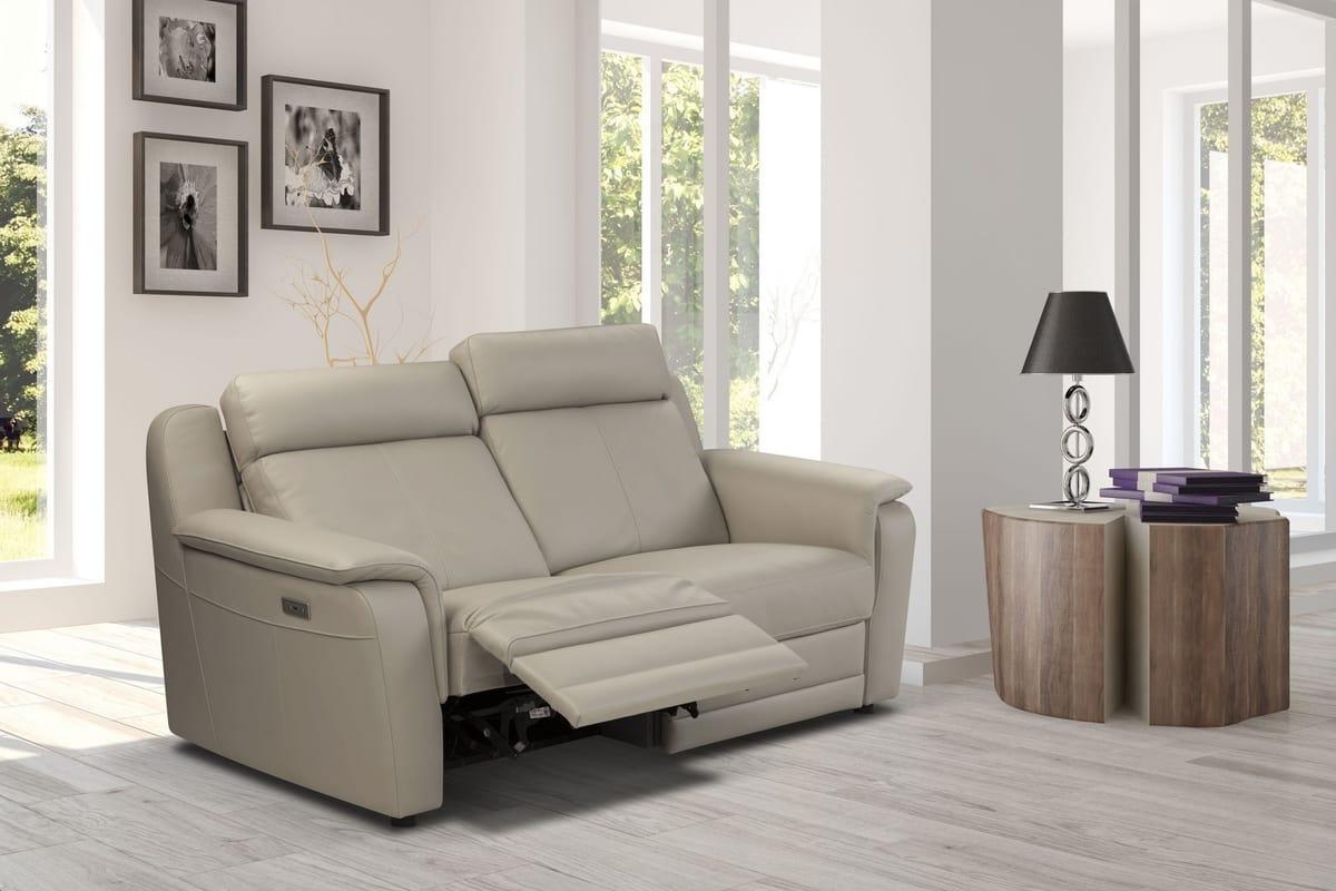Divani Con Meccanismo Relax divano 2 posti con meccanismo relax | idfdesign