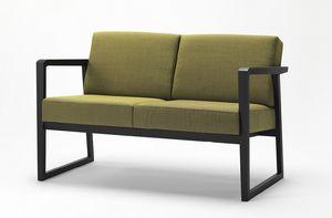 Pod sofa, Divanetto con struttura in legno
