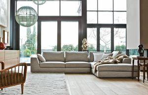 Ralph, Elegante divano modulare
