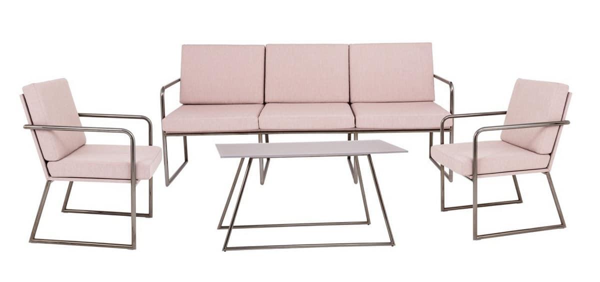 Art.Hellen divano, Divano moderno adatto per l'arredo contract